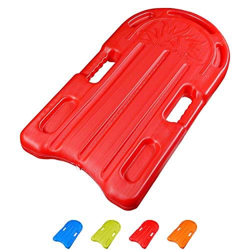 Sport-Tec Schwimbrett Badespaß Bodyboard Schwimmboard Schwimmhilfe mit Handgriffen, groß