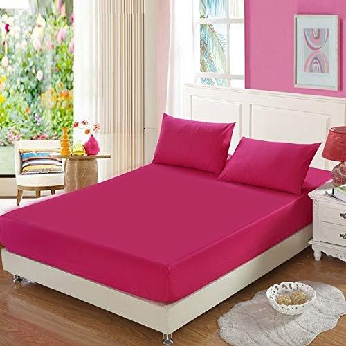 Hllhpc Katoen lakensnon-slip matras coverfour hoekselastische riem vaste beddehuishoudelijke itemsmulti-layer optionele vellen