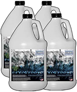 Froggys Fog - 4 Gal - Cryofreeze - Low Lying Ground Fog Machine Fluid for Stage and Studio