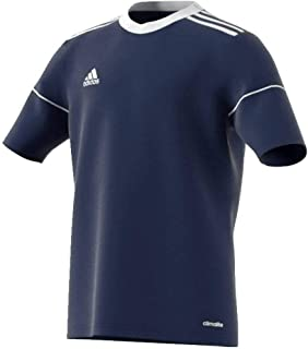 NWT adidas Climalite Squadra 17 Youth Soccer Jersey SZ Youth Large Navy