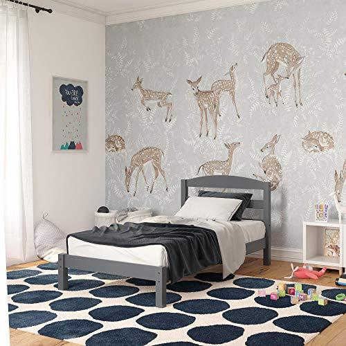 Dorel Living Braylon Twin, Gray Bed