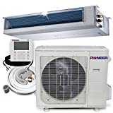 PIONEER Air Conditioner Inverter++ Split Heat Pump, 36,000 BTU, 208-230 V