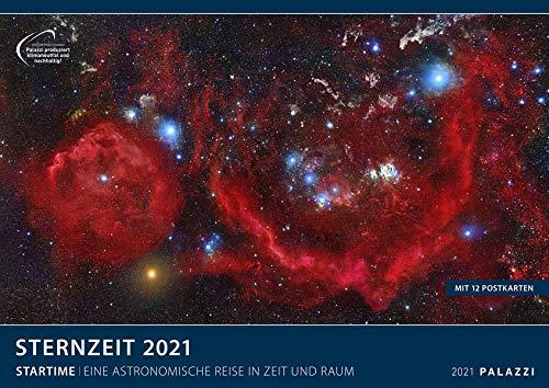 Sternzeit 2021 - Bild-Kalender - Wand-Planer - 70x50: Eine astronomische Reise in Zeit und Raum: Startime. Eine astronomische Reise in Zeit und Raum