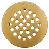 Moen 101663BG 4-1/4-Inch Snap-In Shower Drain Cover, Brushed Gold