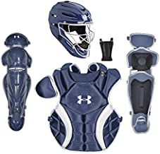 Under Armour PTH Victory Series Catching Kit, Meets NOCSAE, Ages 7-9, Navy Blue
