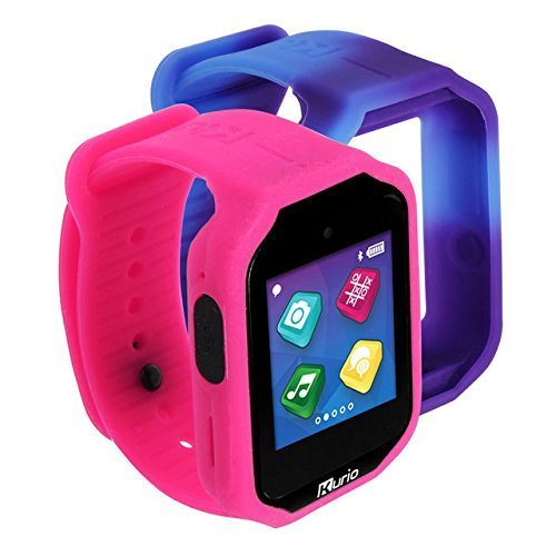Kurio Watch 2.0+ The Ultimate Smartwatch Built for Kids with 2 Bands, Pink and Color Change
