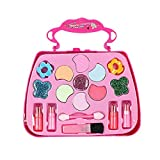 Kids Make Up Toy Set Pretend Play Princess Pink Makeup Beauty Safety Non-toxic Kit Toys for Girls Dressing Cosmetic Girl