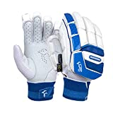 KOOKABURRA Batting Gloves 2020 Pace Pro-Guantes de bateo (Ajustados para jóvenes), Blanco, Youth Right Hand