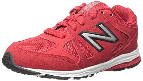 New Balance New Balance KJ888V1 Infant Running Shoe (Infant/Toddler), Red/Black, 17 W EU