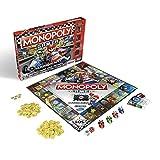 Monopoly Gamer Mario Kart, Juego de Mesa para Adultos y niños, Juego Familiar clásico de Juegos de Mesa, Juego comunitario para 2-4 Personas, a Partir de 8 años