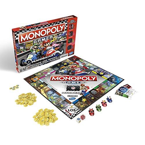 Monopoly Gamer Mario Kaart, gezelschapsspel voor volwassenen en kinderen, familiespel, de klassieker van de bordspellen, communiespel voor 2-4 personen, vanaf 8 jaar
