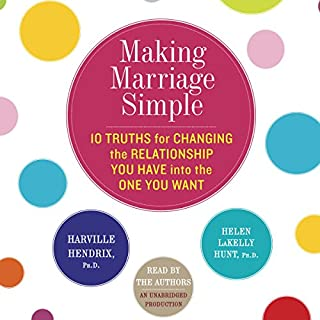 Making Marriage Simple audiobook cover art