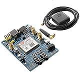 AZDelivery SIM 808 GPRS/GSM Shield con antena GPS para Arduino con eBook inclusivo