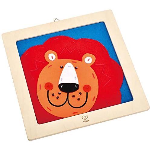 HAPE Kit Ricamo Leone Sorridente Laughing Lion Embroidery Kit E5103