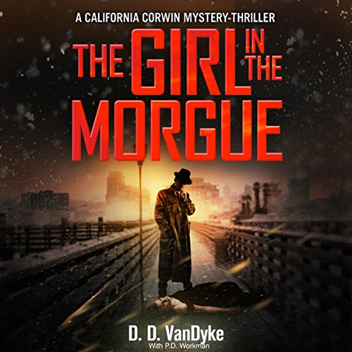 The Girl in the Morgue audiobook cover art