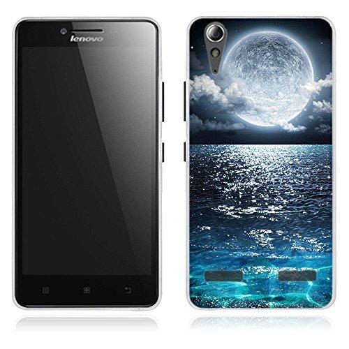 FUBAODA für Lenovo K3 / A6000 Hülle, [Meer] Künstlerische Malerei-Reihe TPU Case Schutzhülle Silikon Case für Lenovo K3 / A6000