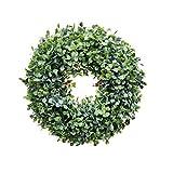 YingQ Ghirlande Naturali Porta D'Ingresso Verde Ghirlanda Erbe Piante Artificiali Ghirlanda Porta Ghirlanda Ation Fiore Erbe Primavera Estate Fattoria -A6
