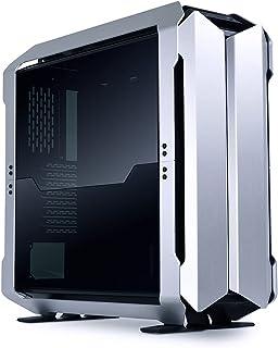 LIANLI オープンエア設計 3モード(DYNAMIC/DAYNAMIC-R/PERFORMANCE)選択可能 倒立構造対応 SSI-EEB PCケース ODYSSEY X SILVER(シルバー) 日本正規代理店品