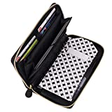 black all-in-one cash system wallet