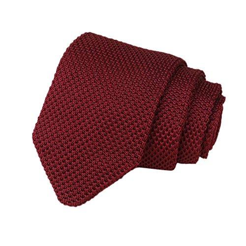 Dorical Herren Schmale Krawatte Stricken Streifen Krawatte Handgefertigte Casual/für Alle Männer...