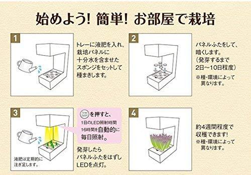 アカリーナakarina14Terrara灯菜LED水耕栽培器野菜栽培キットオリンピアインテリアお洒落