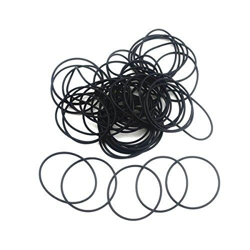 PREMIUM Dichtungen mit 0,9mm Schnurrstärke für Armbanduhren (Bodendichtung/O-Ring)