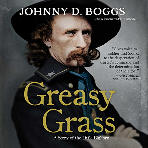 Greasy Grass audiobook cover art
