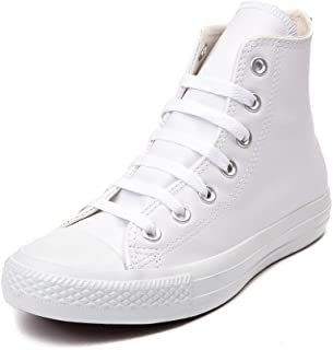 Converse Chuck Taylor All Star HI Men s Shoe White Mono 1T406 (US Men s 7.5    bc2aa29a9