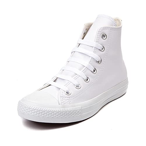 6a6efaf5cbbc Converse Chuck Taylor All Star HI Men s Shoe White Mono 1T406 (US Men s 7.5
