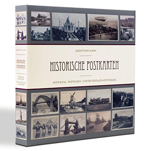 Leuchtturm Sammel-Album für 600 historische Postkarten, mit 50 eingebundenen Klarsichthüllen
