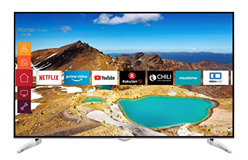 Telefunken XU65G529 165 cm (65 Zoll) Fernseher (4K Ultra HD, HDR 10, Triple-Tuner, Smart TV, Prime Video)