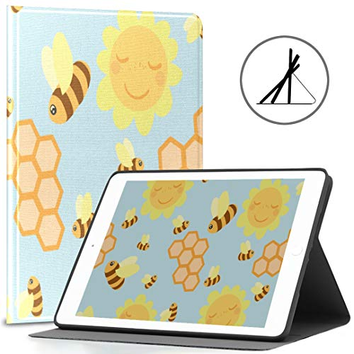 Funda para iPad 9.7 Lovely Kawaii Arrow Particluar Fit 2018/2017 Ipad 5ª/6ª generación Funda protectora para iPad 9.7 también compatible con iPad Air 2/iPad Air Auto Wake/Sleep