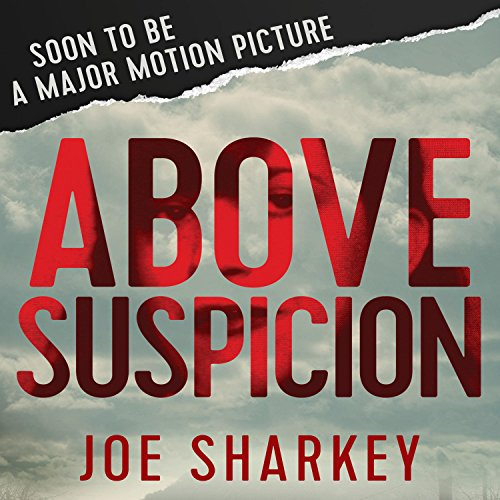 Above Suspicion audiobook cover art