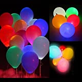 Pulchram Luz LED Colorida Globos Luminosos Luz Nocturna Globos...
