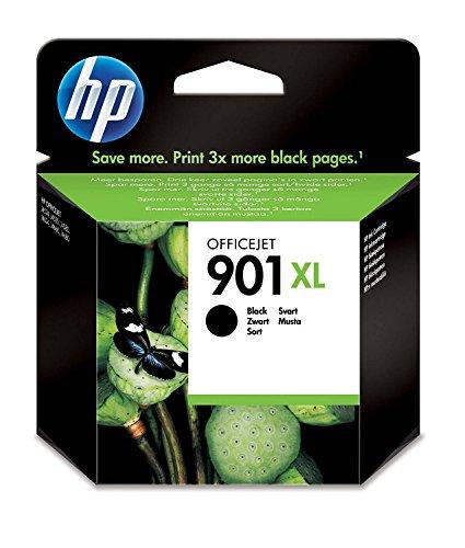 Hp 901Xl Officejet Ink Cartridge (Model Cc654Ae),Black
