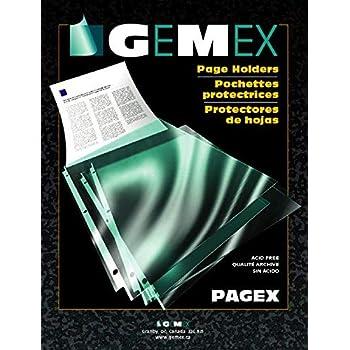 Clear Gemex V-427 Binder Accessories