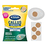 Dr Scholl's Duragel Callus Removers, 4 Cushions and 4 Medicated Discs, (Packaging May Vary)