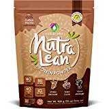 Nutralean Whey Protein for Women with Prebiotic Fiber to Help Feel Full - Coffee Mocha Protein by Nutracelle - 2 lbs Bag (35 Scoops)