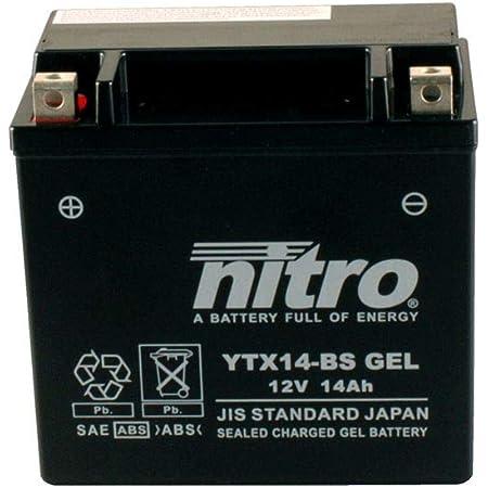 Battery 12v 6ah Ytx7a Bs Gel Nitro 50615 Hps 125i Cbs 17 19 Auto