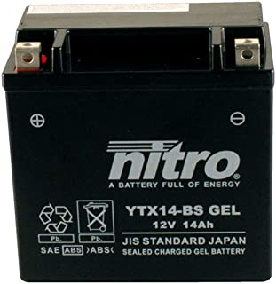 Batterie 12V 12AH YTX14 BS Gel Nitro 51214 XJR 1200 SP 4PU 97 98