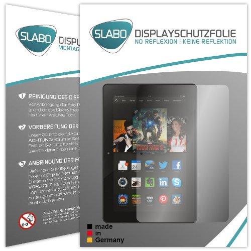 2 x Slabo Bildschirmschutzfolie Kindle Fire HDX 8.9 Bildschirmschutz Schutzfolie Folie