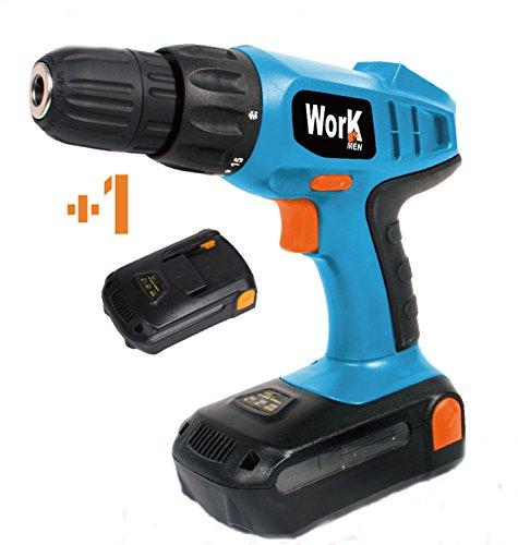 Workmen wmprt18li2-bm taladro atornillador, 18 V, Azul