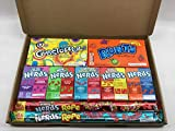 Runts, Gobstopper, Nerds and Nerds Rope Gift Box - American Sweet Gift Set - Hamper - RG9
