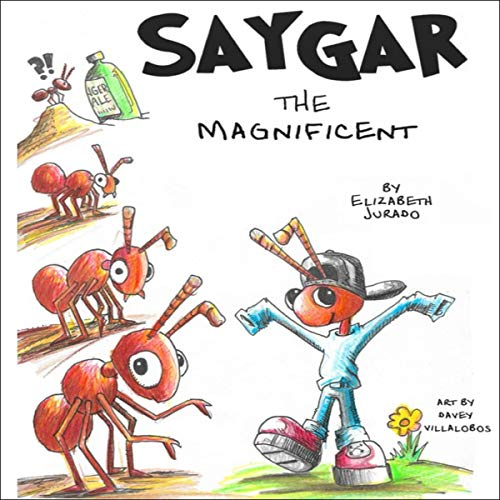 Saygar the Magnificent audiobook cover art