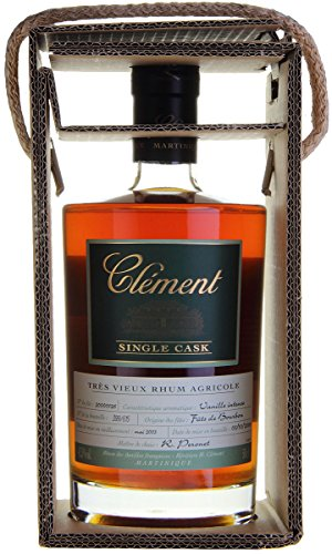 Clément Rhum Vieux Agricole Single Cask Vanilla Intense Rum - 500 ml