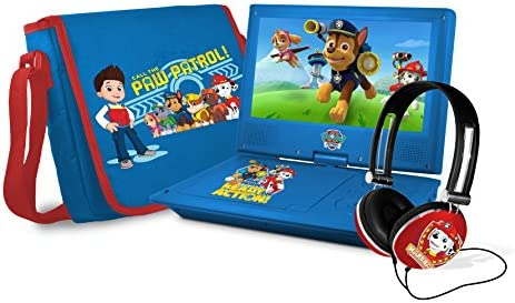 Ematic NPW7221PW Nickelodeons Paw Patrol Theme Portable DVD Player with 9 Inch Swivel Screen product image