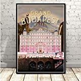 Malerei The Grand Budapest Hotel Film Klassische Comic