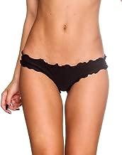 Coqueta Womens Sexy Hot Brazilian Waved Bikini Bottom Swimsuit Scrunch Swimwear
