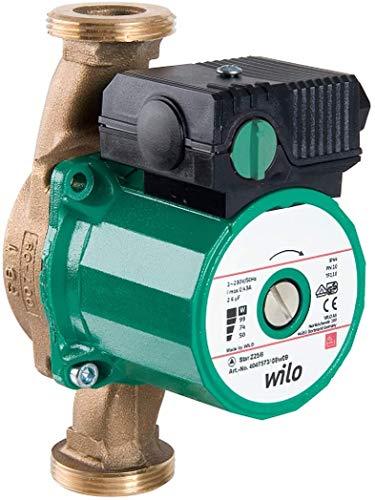 Wilo-Star-Z 20/1, Trinkwasser-Zirkulationspumpe, Nassläufer, Baulänge 130 mm, G1 ¼