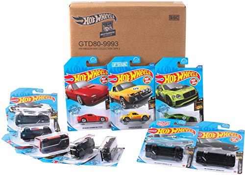 Hot Wheels GTD80 - Spielzeugauto Geschenkset, 10er Set Nightburnerz